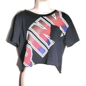 Pink by VS | Crop T-Shirt w/Pocket